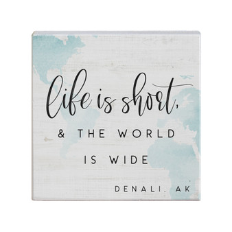 Life Is Short PER - Small Talk Square