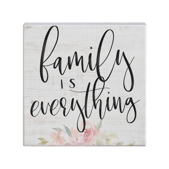 Family Is Everything - Small Talk Square