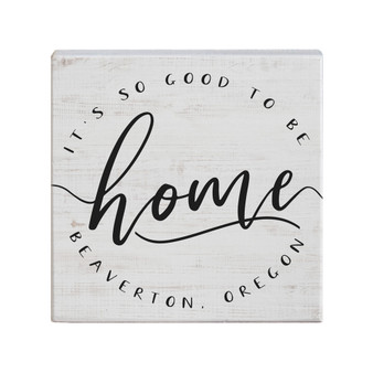 Good To Be Home PER - Small Talk Square