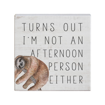 Afternoon Person - Small Talk Square