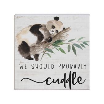 Probably Cuddle - Small Talk Square