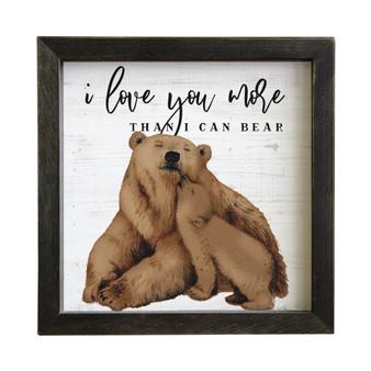 Love You Bear - Rustic Frames