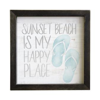 Happy Place Flip Flops PER - Rustic Frames