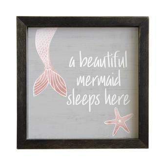 Beautiful Mermaid - Rustic Frames
