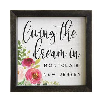 Living The Dream Floral PER - Rustic Frames