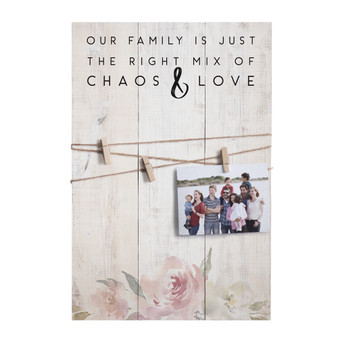 Chaos & Love - Twine Pallets