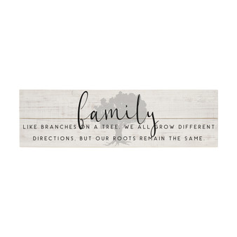 Family Like Branches - Vintage Pallet Boards
