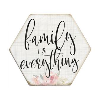 Family Everything  - Honeycomb Coasters