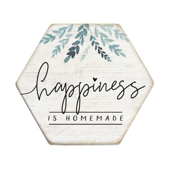 Happiness Homemade - Honeycomb Coasters