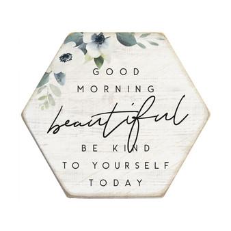 Morning Beautiful - Honeycomb Coasters