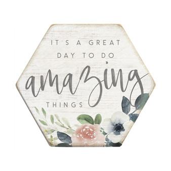 Amazing Things - Honeycomb Coasters