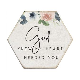 God Knew - Honeycomb Coasters