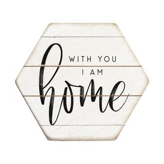 I Am Home - Honeycomb Coasters