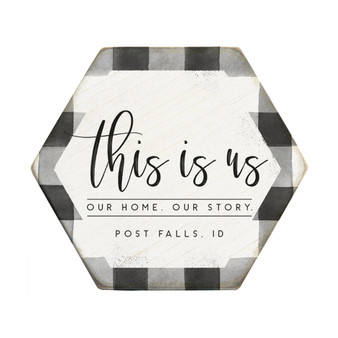 This Is Us PER - Honeycomb Coasters