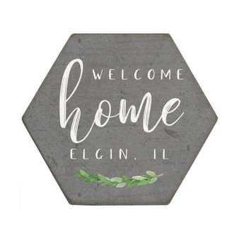 Welcome Home PER - Honeycomb Coasters