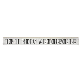 Afternoon Person - Talking Stick