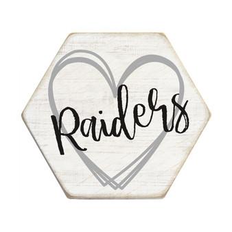 Heart School PER - Honeycomb Coasters