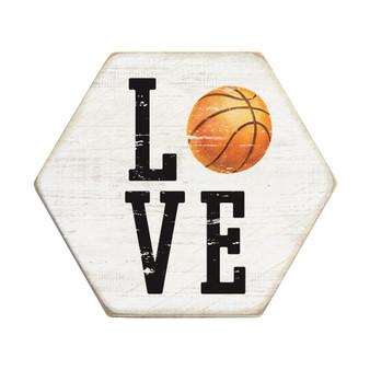 Love Sport PER - Honeycomb Coasters