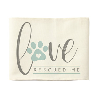 Love Rescued Me - Pillow Hugs