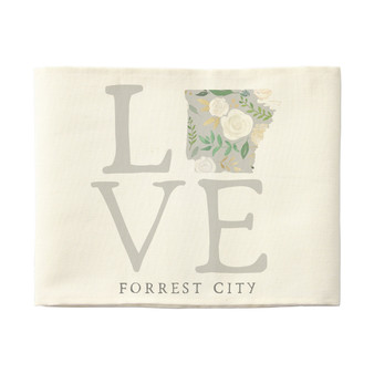 Love State Floral PER STATE - Pillow Hugs