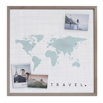 Travel Map - Magnetic Messages