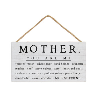Mother You Are My - Petite Hanging Accent
