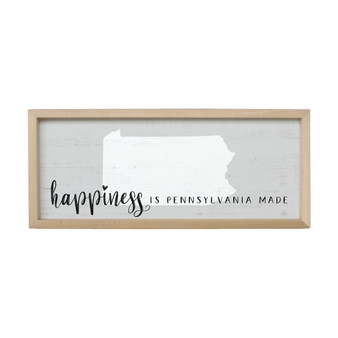Happiness Made PER STATE - Farmhouse Frame