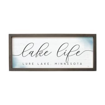 Lake Life PER - Farmhouse Frame