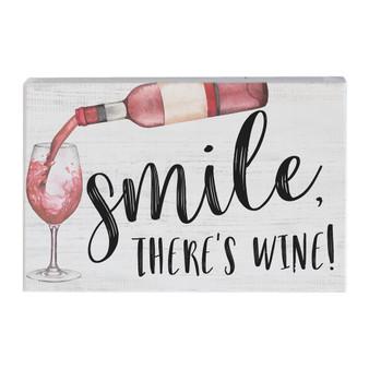 Smile Wine - Small Talk Rectangle