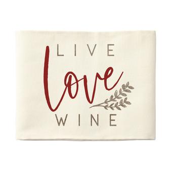 Live Love Wine - Pillow Hugs