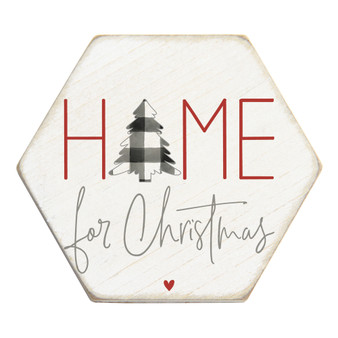 Home For Christmas - Honeycomb Coasters