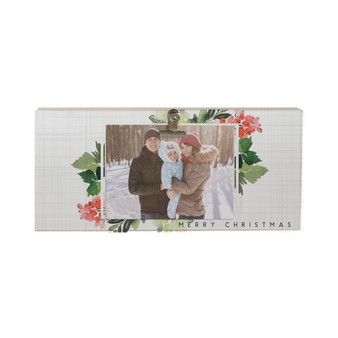 Merry Christmas Frame - Picture Clip