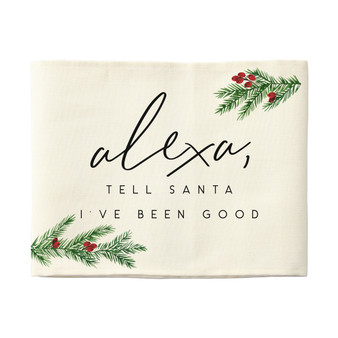Alexa Tell Santa - Pillow Hugs