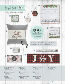HOLIDAY BUNDLE for Designer Club Member's Only