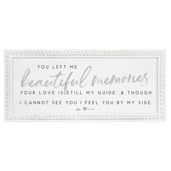 Beautiful Memories - Beaded Rectangle Wall Art