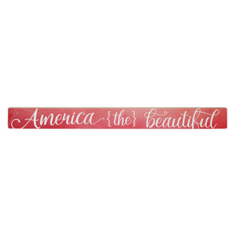 America The Beautiful - Talking Stick