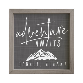 Adventure Awaits PER - Rustic Frame