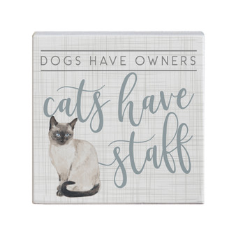 Cats Have Staff - Small Talk Square
