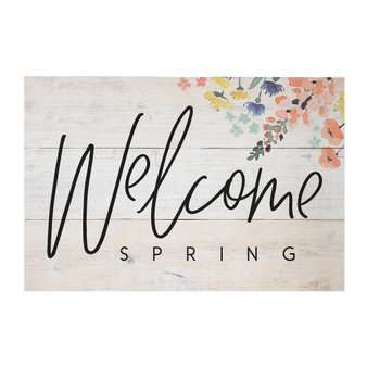 Welcome Spring - Rustic Pallet