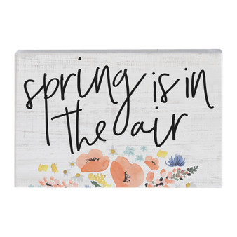 Spring In The Air - Small Talk Rectangle