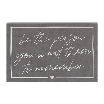 Be The Person - Small Talk Rectangle