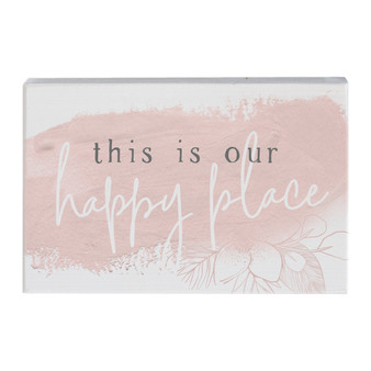 Our Happy Place Floral - Small Talk Rectangle