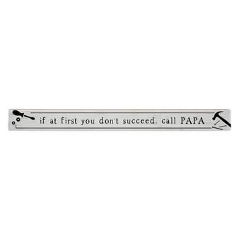 If At First PER - Talking Sticks