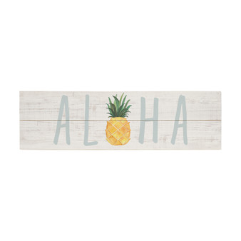 Aloha Pineapple - Vintage Pallet Boards