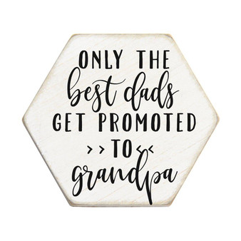 Best Dads PER - Honeycomb Coasters