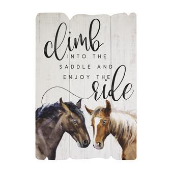 Climb Into Saddle - Splendid Fences