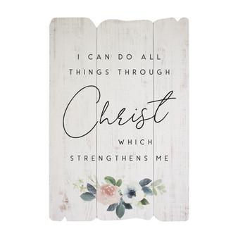 Christ Strengthen - Splendid Fences