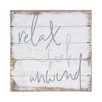 Relax Soak Unwind - Perfect Pallet Petite