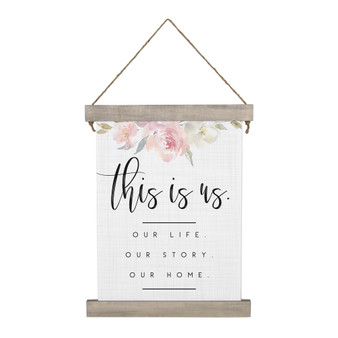 This Is Us - Hanging Canvas
