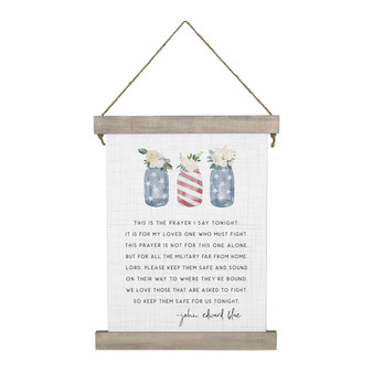 Soldiers Prayer - Hanging Canvas